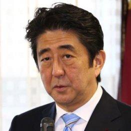 原発輸出を推進する安倍首相/(C)日刊ゲンダイ