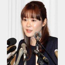 愛弟子の会見が誤算?/(C)日刊ゲンダイ