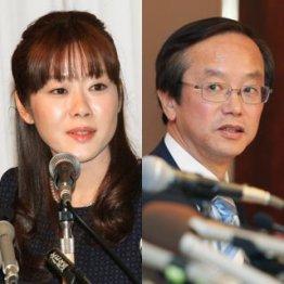 小保方さんを支える三木秀夫弁護士/(C)日刊ゲンダイ