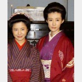 左から主演の吉高由里子、ともさかりえ/(C)日刊ゲンダイ