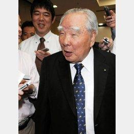 鈴木会長の発言をメディアも注視/(C)日刊ゲンダイ