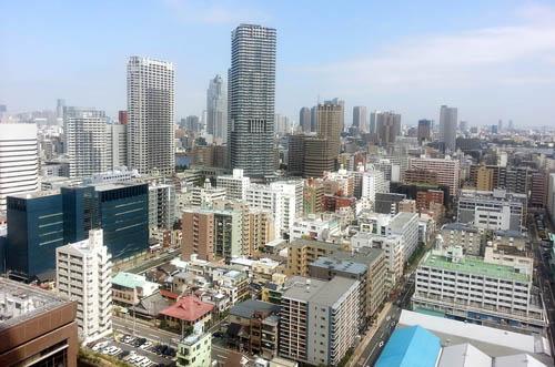 五輪関連施設の建設が予定されている晴海周辺/(C)日刊ゲンダイ