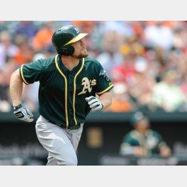 ダルから4本塁打のモスは「失投が分かる」/(C)AP