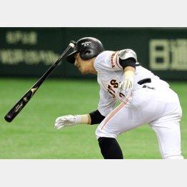 四回に2点三塁打/(C)日刊ゲンダイ