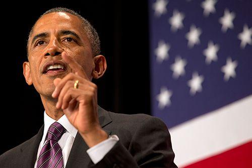オバマ大統領も気が気じゃない?/(C)AP