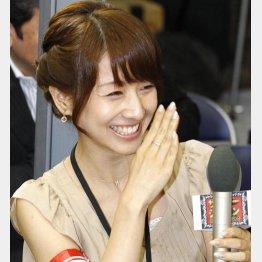 """""""ザ・女子アナ""""田中みな実/(C)日刊ゲンダイ"""