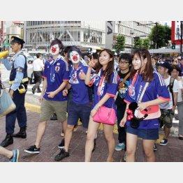 盛り上がるのはサッカー日本代表試合日だけ/(C)日刊ゲンダイ