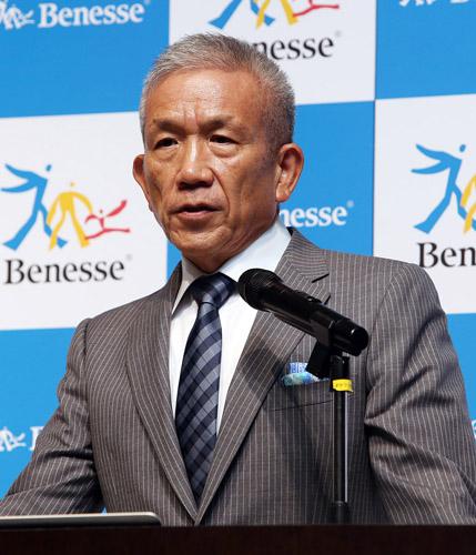 対応に追われるベネッセの原田会長/(C)日刊ゲンダイ