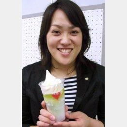 鹿児島の氷菓「白くま」に着想/(C)日刊ゲンダイ