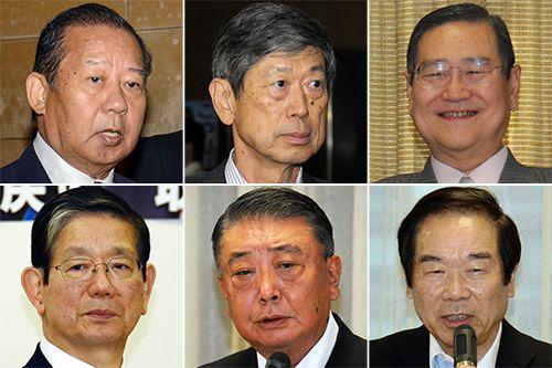 入閣が取り沙汰される6人/(C)日刊ゲンダイ