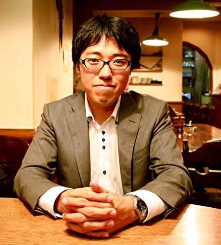 著者の坂爪真吾/(C)日刊ゲンダイ
