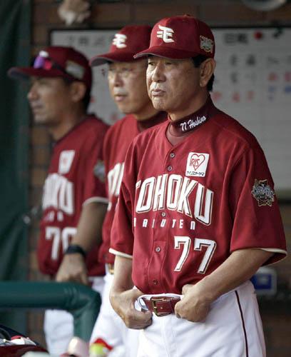 「ぬるい野球やってるなあ」と星野監督/(C)日刊ゲンダイ
