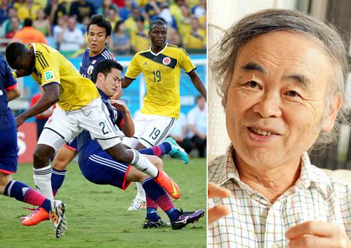藤原氏(右)が指摘、吉田麻也もスピード、ダッシュ力に欠ける (C)真野慎也/JMPA