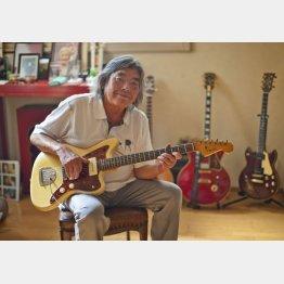 リードギターだったエディ藩さん/(C)日刊ゲンダイ