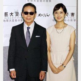 上篠倫子アナとタッグ/(C)日刊ゲンダイ