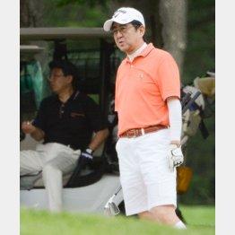 第2次政権ではゴルフ三昧/(C)日刊ゲンダイ
