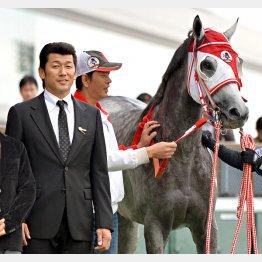 愛馬がいる限りは…(三浦とリーゼントブルース)/(C)日刊ゲンダイ