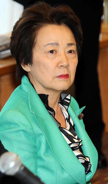 新任の山谷えり子拉致担当相/(C)日刊ゲンダイ