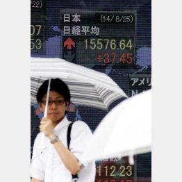 市場は見通している/(C)日刊ゲンダイ