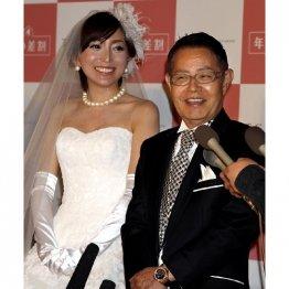 2011年に再婚/(C)日刊ゲンダイ