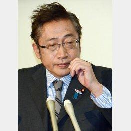 """""""創業者""""哀れ/(C)日刊ゲンダイ"""