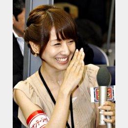 嫌いな女子アナトップの田中アナ/(C)日刊ゲンダイ