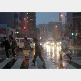 東京は世界一危ない災害危険都市/(C)日刊ゲンダイ