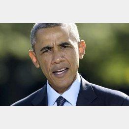 自ら退路を断ったオバマ米大統領/(C)AP
