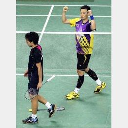 準々決勝で韓国に敗れた日本(手前は上田選手)/(C)AP