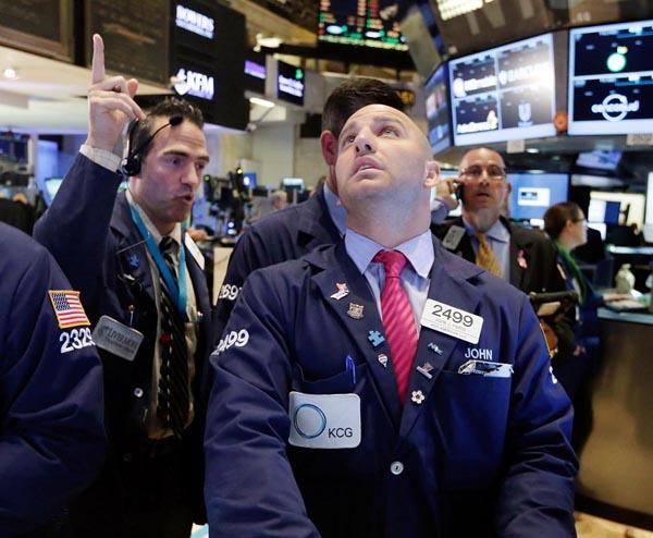 いつか来る(ニューヨーク証券取引所)/(C)AP