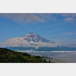 富士山も活火山/(C)日刊ゲンダイ