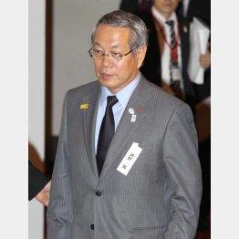 河野JSC理事長は開き直り/(C)日刊ゲンダイ