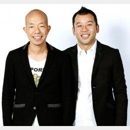 小峠(左)と西村/(C)日刊ゲンダイ