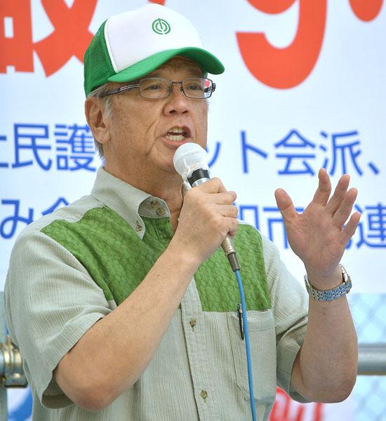 沖縄知事選に出馬する/(C)日刊ゲンダイ