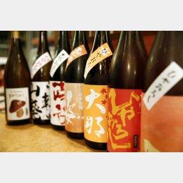 秋はうまい日本酒が出回る季節/(C)日刊ゲンダイ