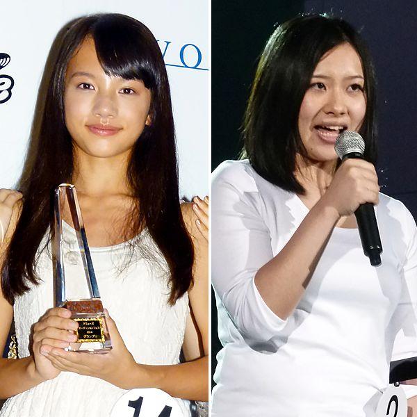 グランプリの清原果耶(左)と大松絵美/(C)日刊ゲンダイ