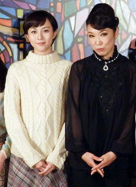 主演の比嘉愛未とユーミン/(C)日刊ゲンダイ