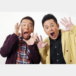 「前田日明さんには緊張」と有田/(C)日刊ゲンダイ