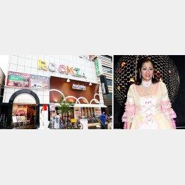 小向美奈子が出演した時は行列ができた/(C)日刊ゲンダイ