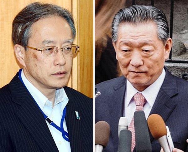 伊原局長と宋日昊担当大使/(C)AP