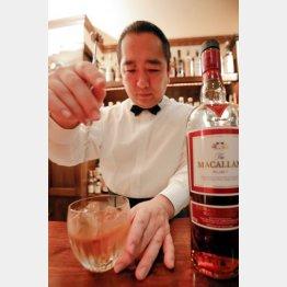 「bar fingal」の谷嶋元宏氏/(C)日刊ゲンダイ