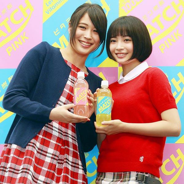 アリス(左)とすず(右)/(C)日刊ゲンダイ