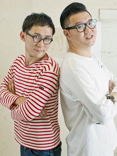 長谷川忍(右)とじろう/(C)日刊ゲンダイ