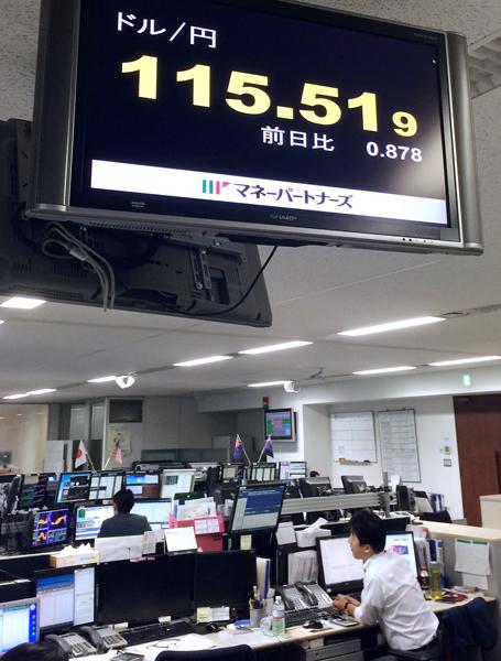 円安が一気に進む/(C)日刊ゲンダイ