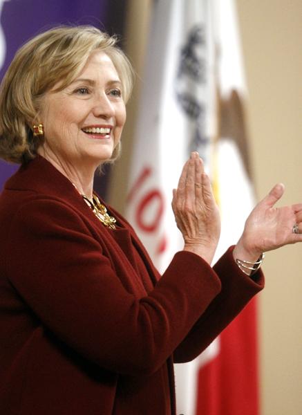 女性初大統領なるか/(C)AP