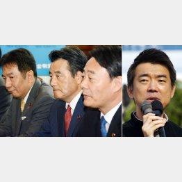 カギは民主党嫌いの橋下大阪市長/(C)日刊ゲンダイ