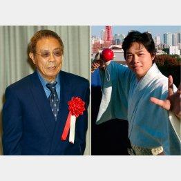 北島三郎(左)と三山ひろし(右)/(C)日刊ゲンダイ