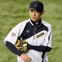 金子の投球にメジャー関係者が熱視線/(C)日刊ゲンダイ