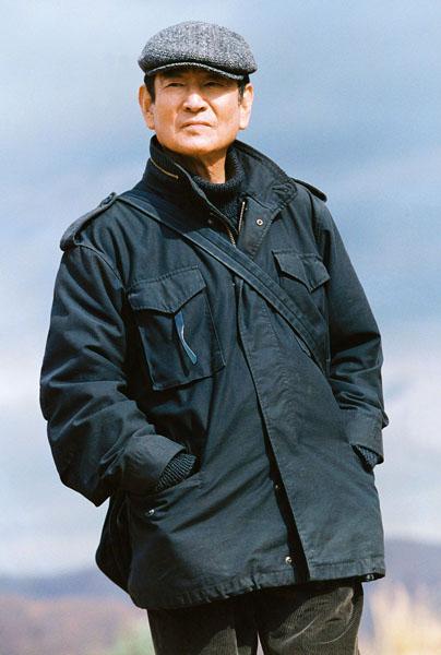 日中合作映画「単騎、千里を走る。」での高倉健/(C)AP