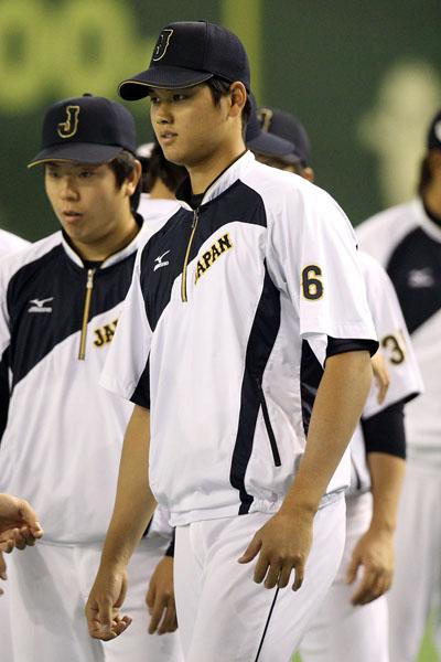 大谷翔平は160キロをマークしたものの/(C)日刊ゲンダイ